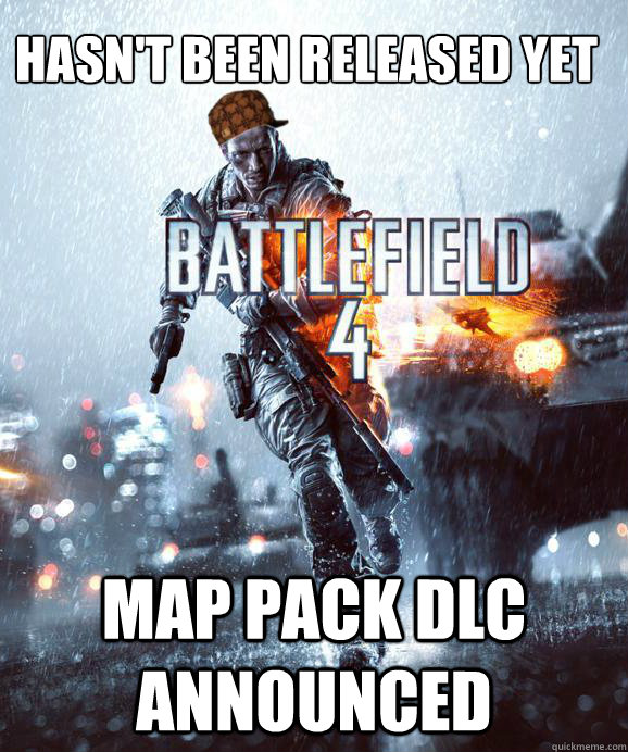 Hasn t been released yet map pack dlc announced scumbag battlefield