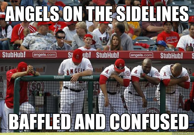 angels on the sidelines  baffled and confused - angels on the sidelines  baffled and confused  Misc