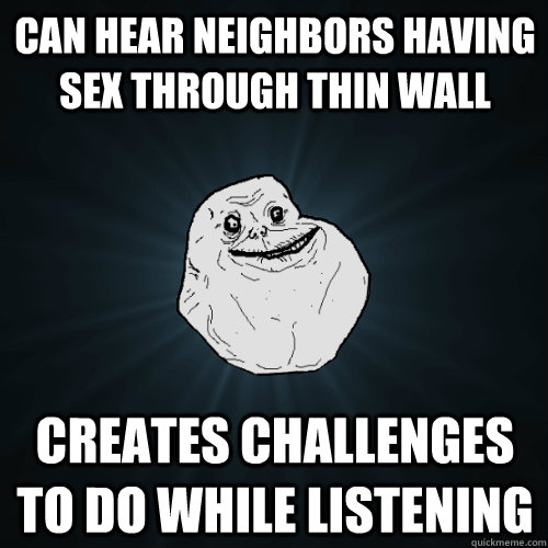 hearing sex through the wall