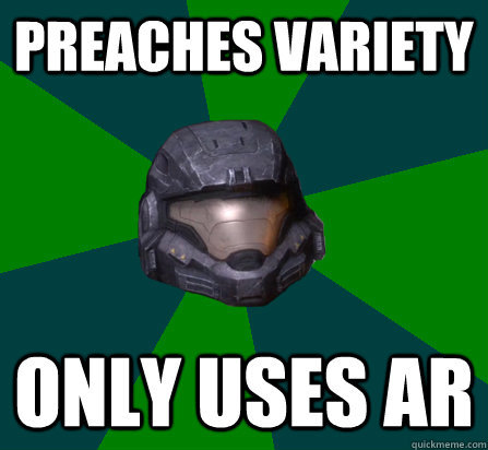 PREACHES VARIETY ONLY USES AR
