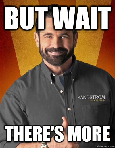 But wait There's more - But wait There's more  Billy Mays