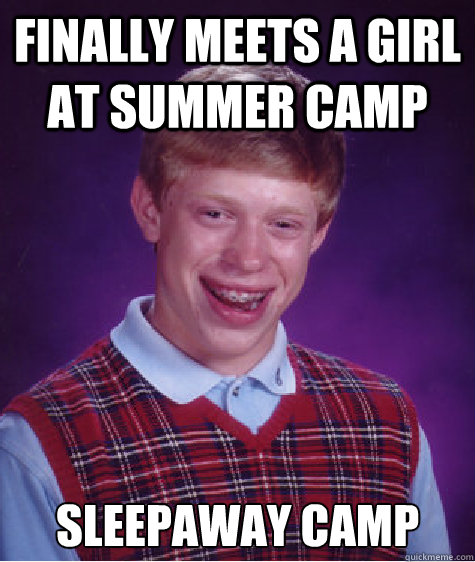 Finally meets a girl at summer camp Sleepaway Camp  - Finally meets a girl at summer camp Sleepaway Camp   Misc