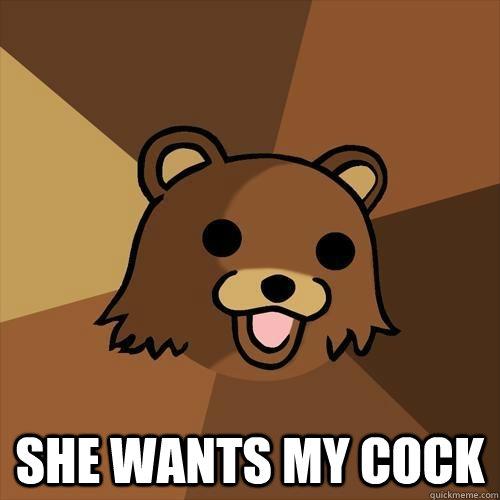 She Wants My Cock