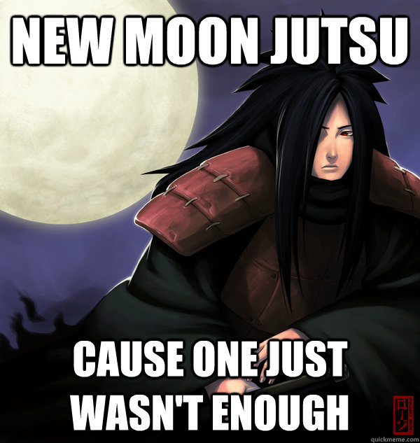 new moon jutsu cause one just wasn't enough  Misunderstood Madara