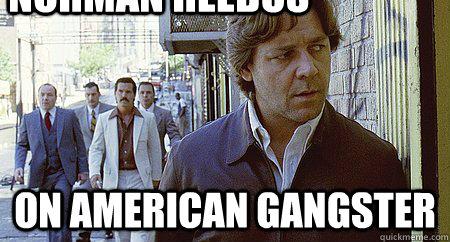 Norman Reedus On american gangster  norman reedus
