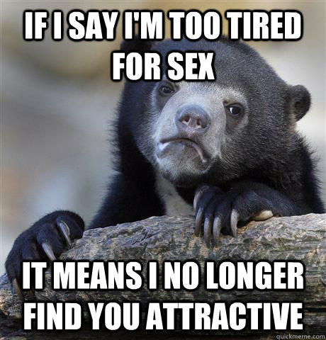 Only want sex