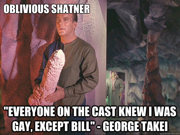 Oblivious Shatner