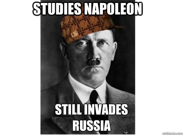 Studies Napoleon Still invades Russia