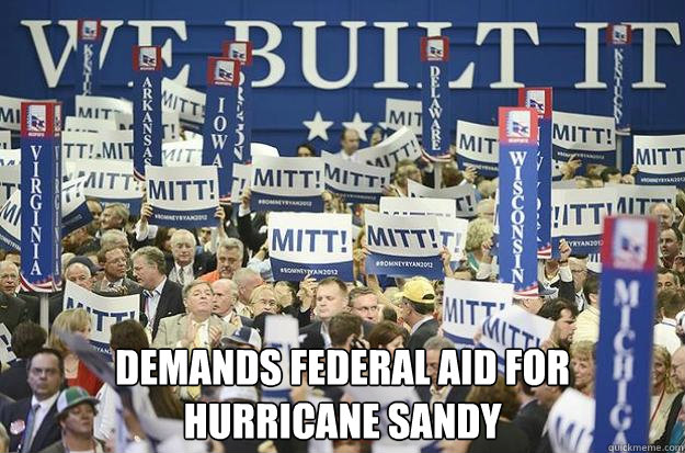 Demands Federal Aid For Hurricane Sandy -  Demands Federal Aid For Hurricane Sandy  Misc