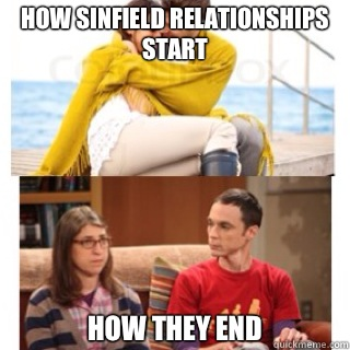 How Sinfield relationships start HOW they end - How Sinfield relationships start HOW they end  Bahamas