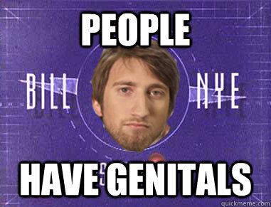 people have genitals