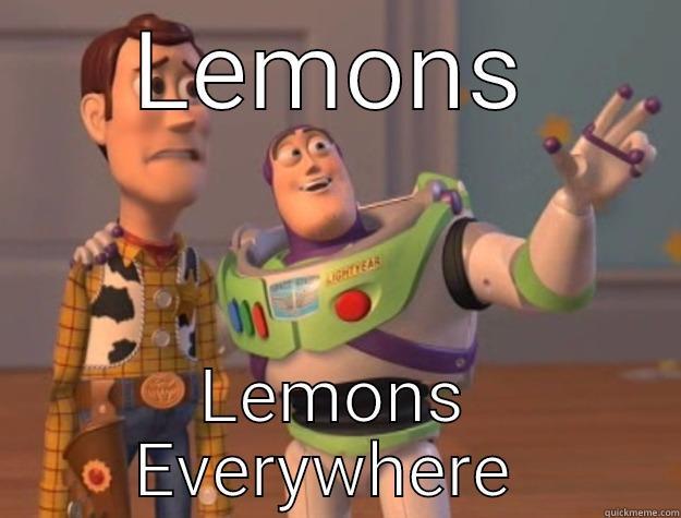 LEMONS LEMONS EVERYWHERE  Toy Story