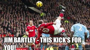 Jim Bartley - this kick's for you! - Jim Bartley - this kick's for you!  ROONEY KICK