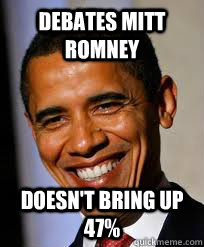 Debates mitt romney doesn't bring up 47%