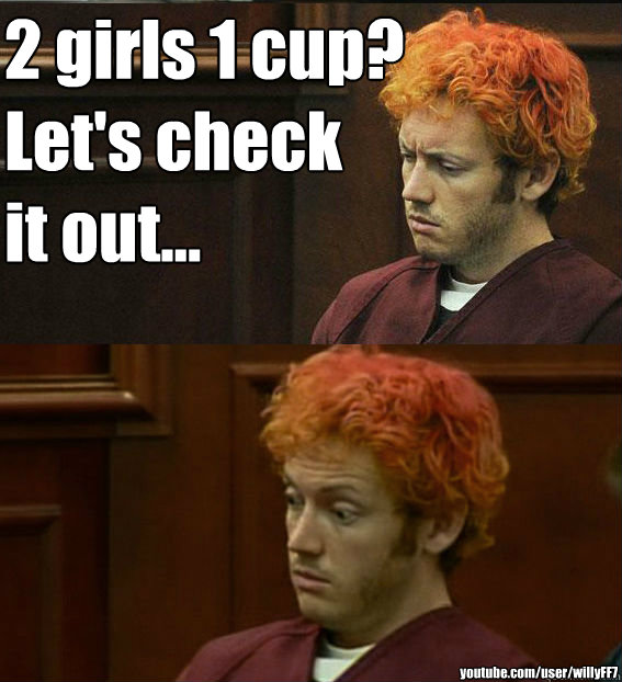 2 girls 1 cup? Let's check it out... youtube.com/user/willyFF7