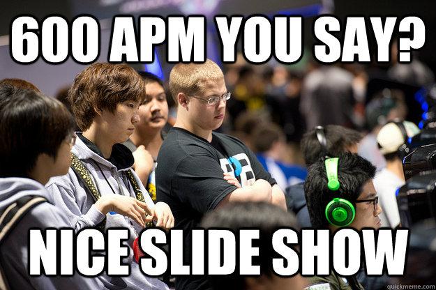 600 apm you say? nice slide show