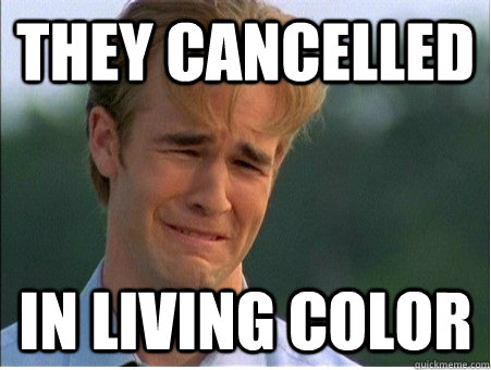They cancelled In Living color - They cancelled In Living color  1990s Problems