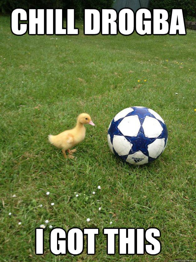 training hattrick style football duck quickmeme
