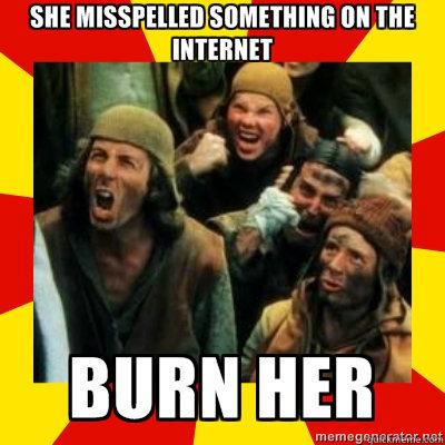-    Monty Python Burn