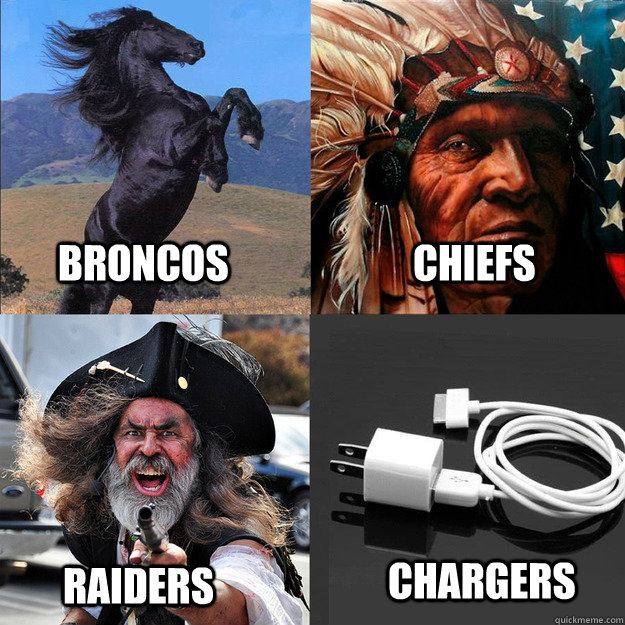 357716d752e2fd4f63f3dab8a033b62cd9d48ca5a05218920eee8a5e2e008c0c broncos chiefs raiders chargers afc west quickmeme