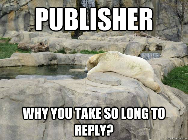 publisher why you take so long to reply?
