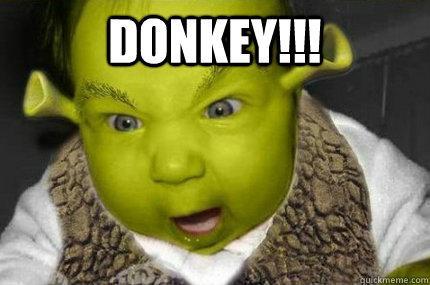 Donkey!!!  - Donkey!!!   Shrek Baby