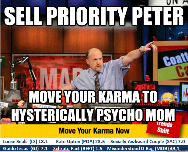 Priority peter meme think, that
