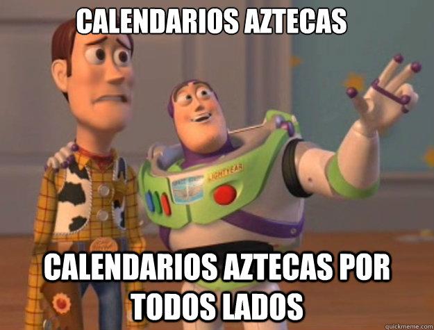 Calendarios aztecas calendarios aztecas por todos lados - Calendarios aztecas calendarios aztecas por todos lados  Toy Story