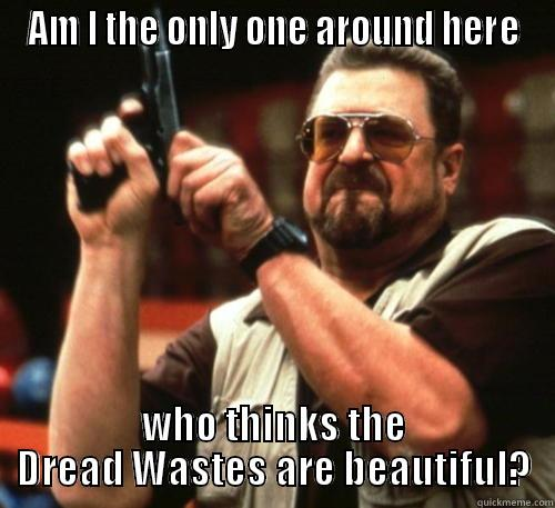 AM I THE ONLY ONE AROUND HERE WHO THINKS THE DREAD WASTES ARE BEAUTIFUL? Am I The Only One Around Here