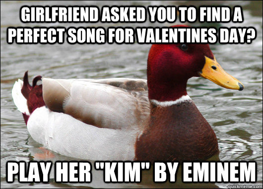 Girlfriend asked you to find a perfect song for valentines day? play her