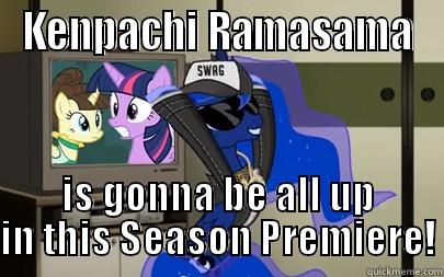Kenpachi Ramasama Is Gonna Be All Up In This Season Premiere