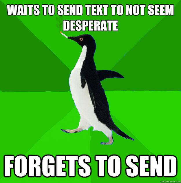 how to flirt but not seem desperate