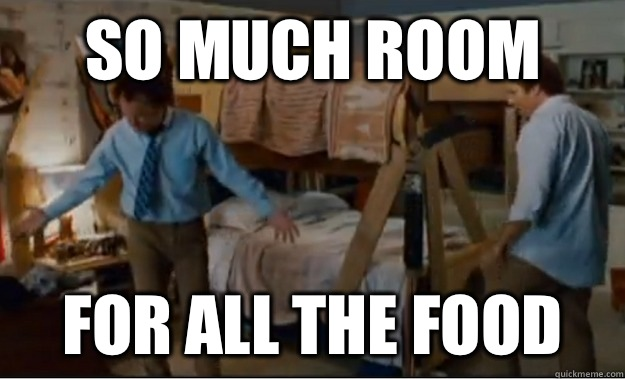 SO MUCH ROOM FOR ALL THE FOOD - SO MUCH ROOM FOR ALL THE FOOD  Stepbrothers Activities