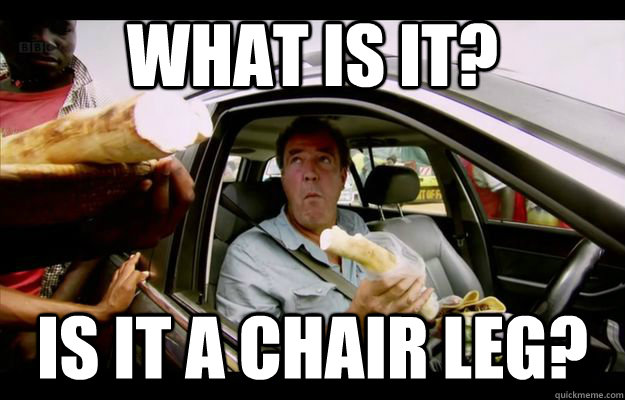 What is it? Is it a chair leg? - What is it? Is it a chair leg?  Misc