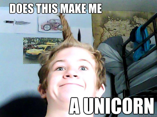 does this make me a unicorn