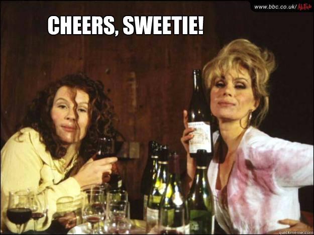 Cheers, Sweetie! - Cheers, Sweetie!  Ab-Fab