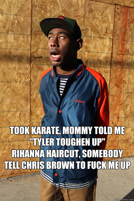 Took karate, mommy told me
