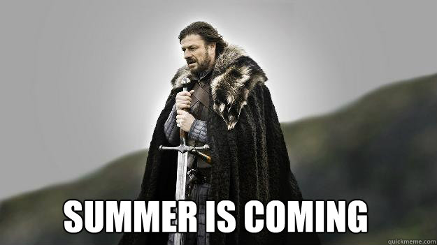 Summer is coming -  Summer is coming  Ned stark winter is coming