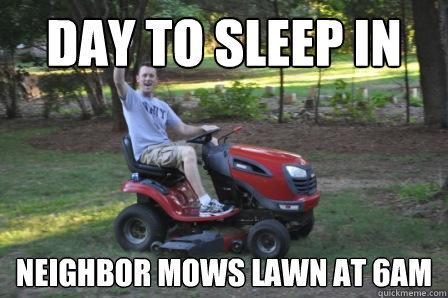 Neighbor S Car Wakes Me Up