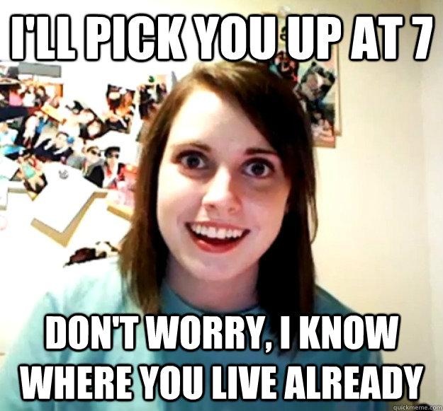 pick you up at