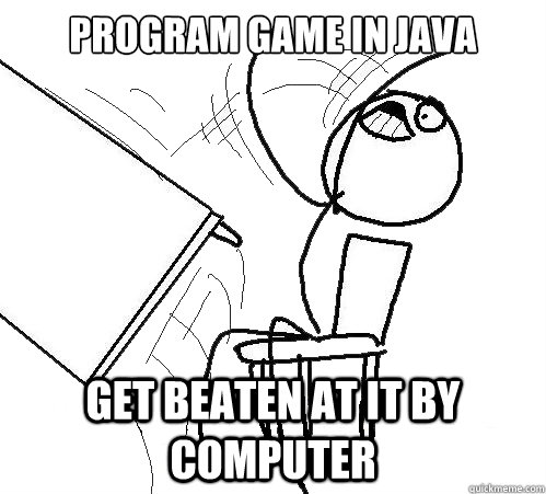 Program game in java Get beaten at it by computer - Flip A Table