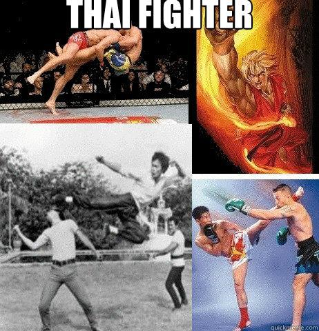Thai fighter      Muay Thai