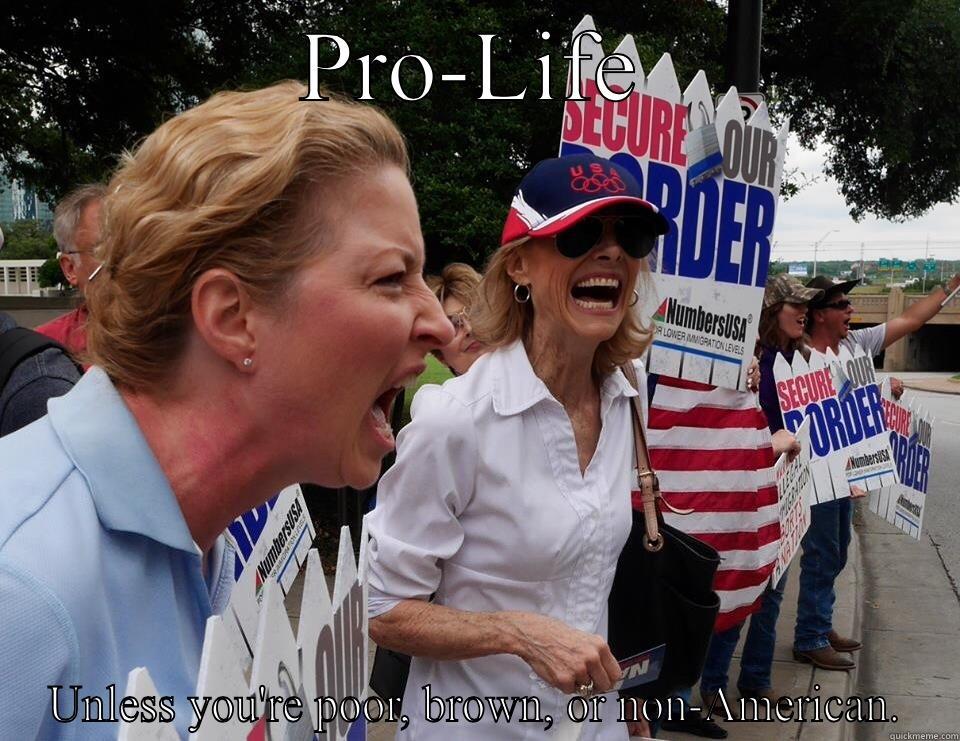 380fcbd981de7ef9b1e549d5170bf1f33a44008b5443d45986b6a89797a08313 pro life anti immigrant quickmeme,Anti Immigration Memes