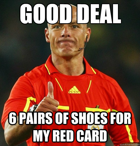 good Deal 6 pairs of shoes for my red card