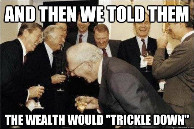 and then we told them the wealth would