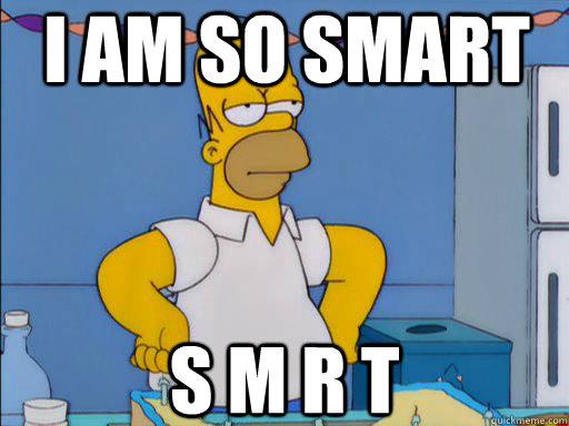 I am so smart s m r t