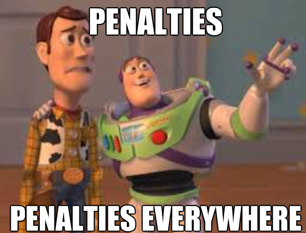 Penalties Penalties Everywhere