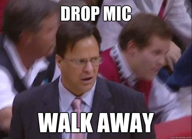 Drop Mic Walk Away