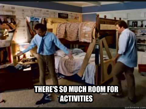 There S So Much Room For Activities Step Brothers Bunk Beds