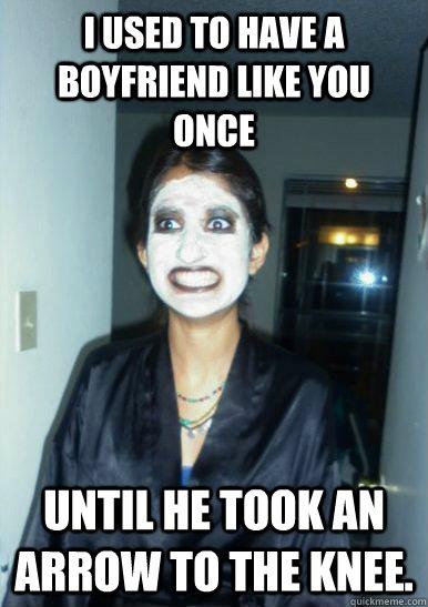 Psycho Ex Girlfriend Meme You saw your ex...